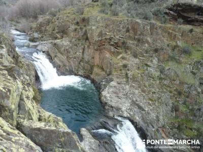 Cascadas del Aljibe;senderos del jerte;amigos senderistas;accesorios senderismo
